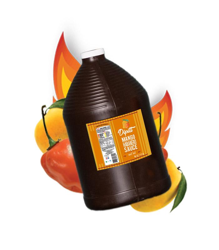 dipitt-mango-habanero-sauce-gallon-rotated