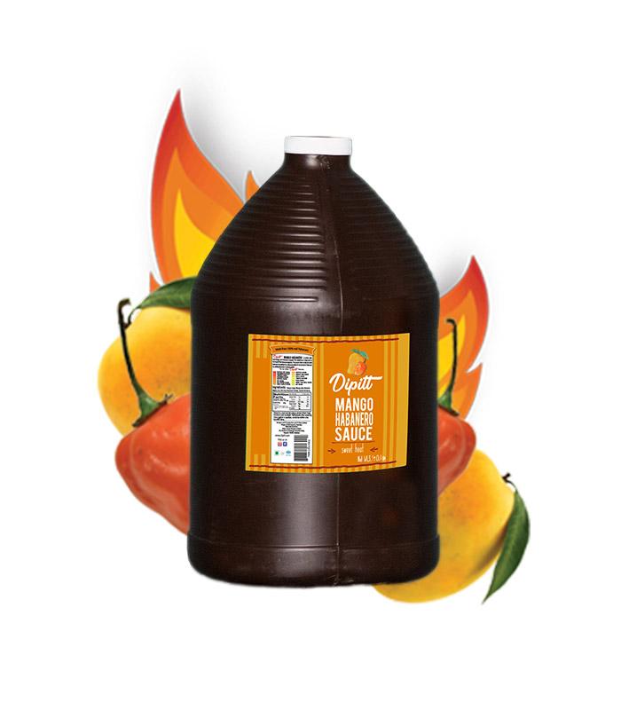 dipitt-mango-habanero-sauce-gallon