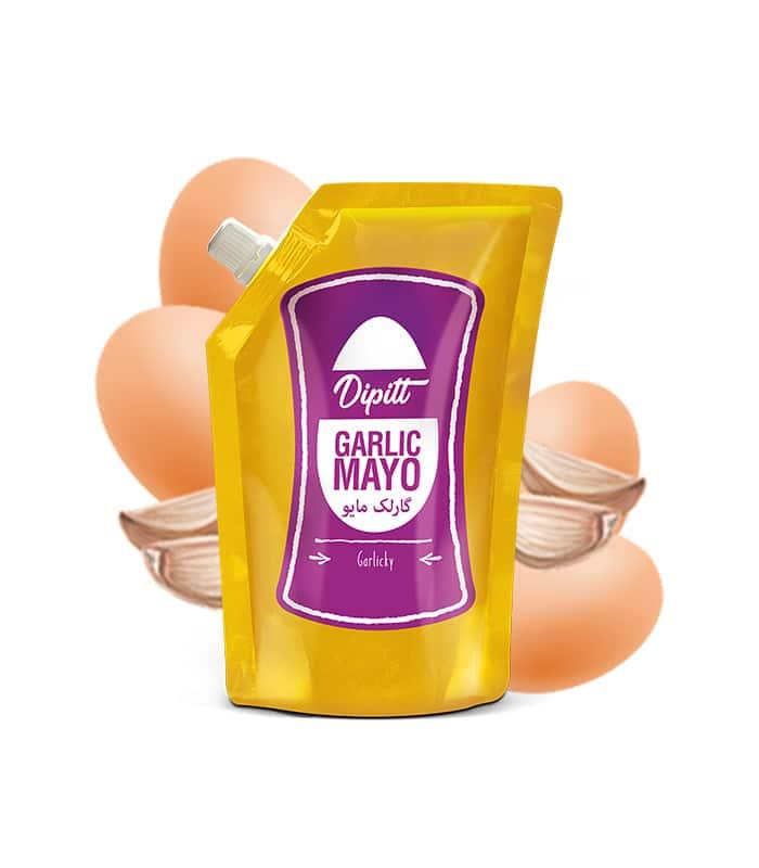 garlic mayo pouch
