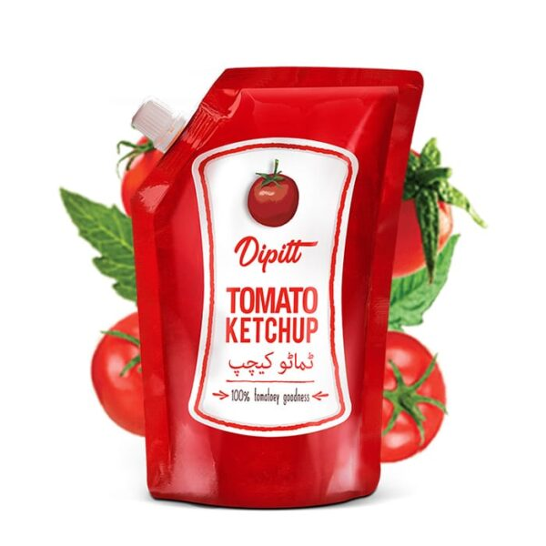 tomato ketchup pouch